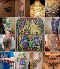 13 zelda fans show off their tattoos walyou