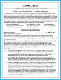 Business Systems Analyst Resume Sample by Business Analyst Investment Banking Resume Free Resume Example
