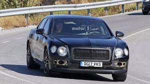 bentley flying spur 2017 blue new bentley flying spur spied wearing full camouflage