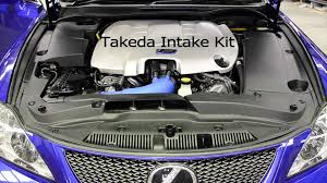 lexus rc f cold air intake lexus isf with