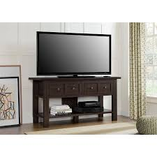 console tables best simple tv on console table tv corner stand