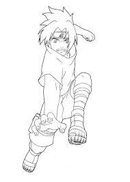 naruto sasuke coloring pages sasuke naruto coloring pages