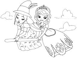 cool princess sofia coloring pages colorings me