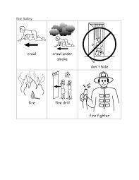 fire safety worksheets for kindergarten worksheets