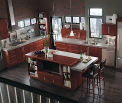 contemporary decorating above kitchen cabinets amish kitchen