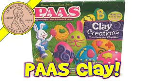 egg decorating kits paas clay creations easter egg decorating kit
