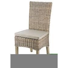 chaise en chaises salle manger rotin achat vente pas cher
