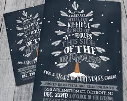 ho ho ho holiday party invitation digital