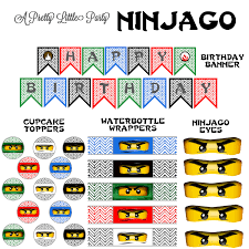 ninjago party supplies ninjago party pack ninjago party supplies 15 00 via
