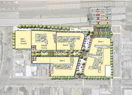Bart Map Oakland by Macarthur Station Transit Village Master Plan Pgadesign