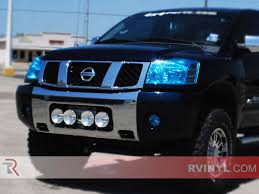 nissan titan yellow fog light rshield nissan titan 2004 2015 headlight protection kits