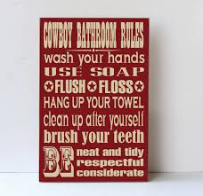cowboy bathroom ideas cowboy bathroom wood sign western decor cowboy child