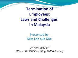 employee termination laws in malaysia