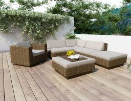 Patio Sectional Furniture Interesting Patio Sectional For Your Outdoor Decor