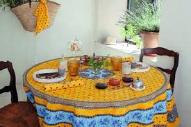 Patio Tablecloth Round Awesome French Round Tablecloths And Square Cloths For Outdoor