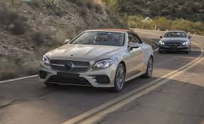 mercedes convertible 2018 mercedes benz e class cabriolet first ride u2013 review u2013 car and