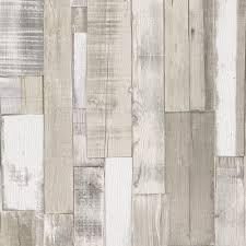 rasch authentic wood wooden beam embossed textured wallpaper