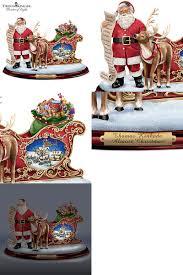 the bradford exchange kinkade almost santa with