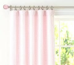 Pink Polka Dot Curtains Polka Dot Curtains Chenille Dot Panel Pottery Barn With Pink