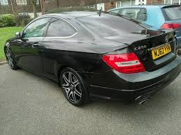 mercedes c250 coupe amg sport plus diesel blueefficiency fully