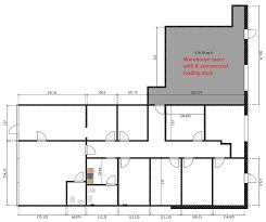 Floor Plan Of A Warehouse Unit D U2014 Capital Pointe