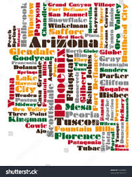 Map Of Arizona State by Abstract Vector Map Arizona State Usa Stock Vector 72943093