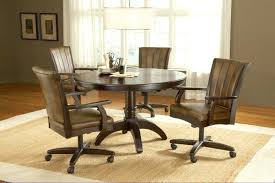 kitchen table and chairs with casters table and chairs with casters kinsleymeeting com