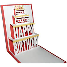 pop up birthday card silhouette design store view design 6744 pop up birthday card