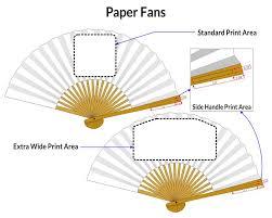 custom paper fans promotional fans personalized paper fans