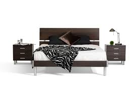 Wenge Bedroom Furniture Modrest Bravo Modern Wenge Bedroom Set