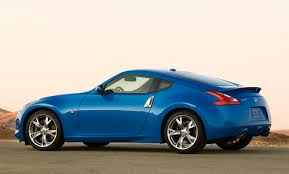 nissan sports car blue review 2009 nissan 370z the truth about cars