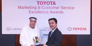 Ebrahim K Kanoo Receives Prestigious Awards From Toyota Motor