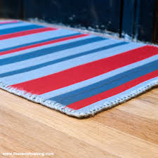 Kitchen Rugs Red Project Giveaway Wool Binding Kitchen Rug For Hand Stitched