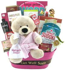 feel better soon gift basket get well sweet glitter gift baskets