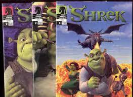 shrek dark horse comic books complte 1 3 princess donkey