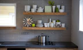Floating Shelves Kitchen by Kitchen Remodeled 2 Years Ago Almost Done