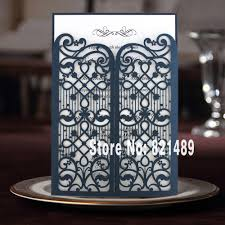 Wedding Invitation Cards China Online Buy Wholesale Blue White Wedding Invitations From China