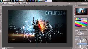 battlefield 4 wallpaper speedart photoshop cs6 2 youtube