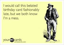 card invitation samples the latest happy belated birthday ecard
