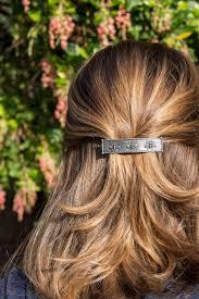 barrette hair clip hair clip barrette hair accessory honey bee 70mm oberon design