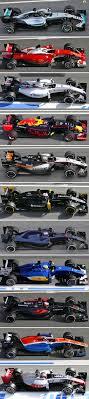 f1 cars 2016 car comparison f1technical