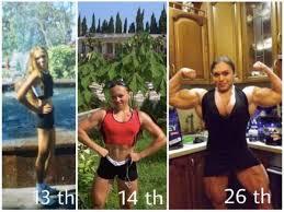 begini perubahan perempuan kurus berubah jadi kekar berotot womantalk