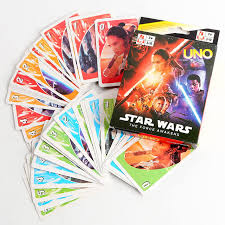 wars cards wars the awakens uno card collection cards in