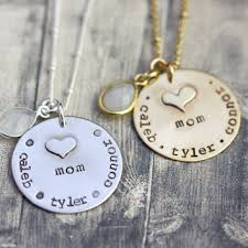 Stamped Name Necklace Inspired By Bronx On Wanelo