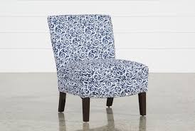 Navy Accent Chair Khara Navy Accent Chair Living Spaces