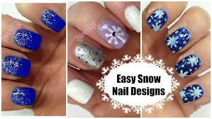 diy cute u0026 easy snowflake christmas nail polish the ultimate