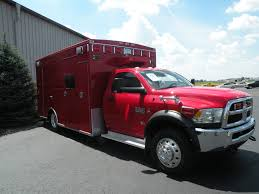 Dodge Ram 4500 - chief xl ambulance delivered to hebron fire district