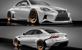 lexus is f sport coupe lexus deviantart contest yields sema designs autoguide