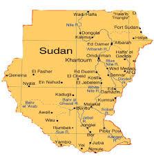 Nile River On Map Khartoum Is The Capital Of Sudan The Nile River Runs Th