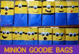 minion gift bags minion goodie bags from despicable me 8 steps